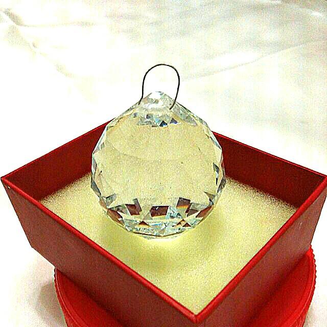 多角型切割面水晶圓球❄⚽💎💍