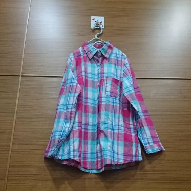 大出清~不議價…二手亮色襯衫  #冬季衣櫃出清