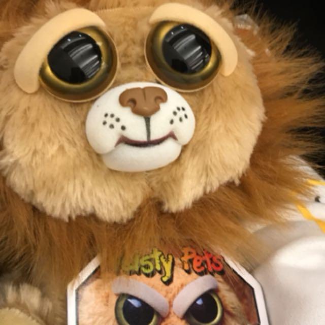 變臉娃娃 獅子