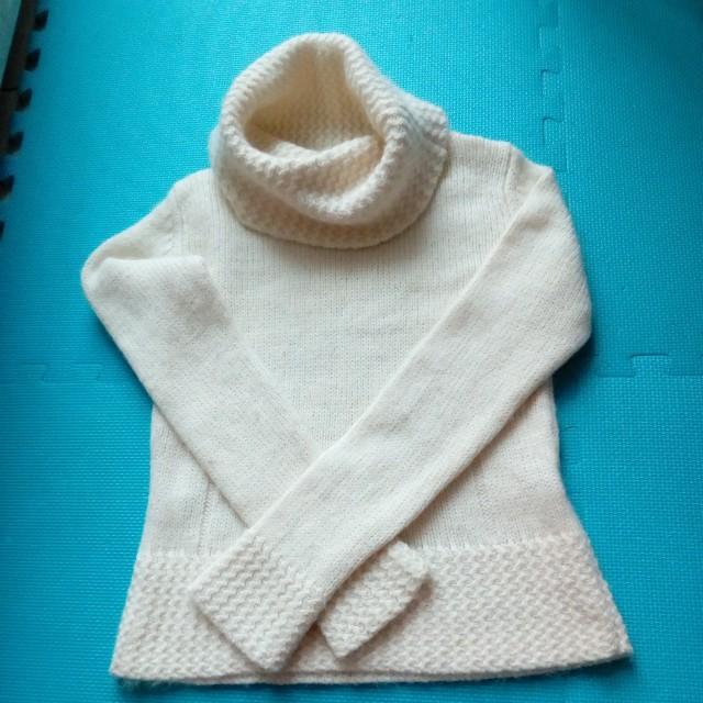 高領毛衣 日本製