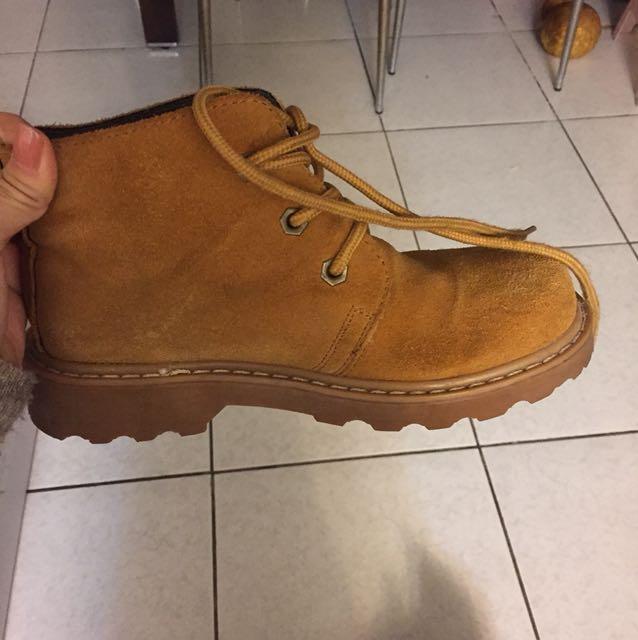 小牛皮 短靴