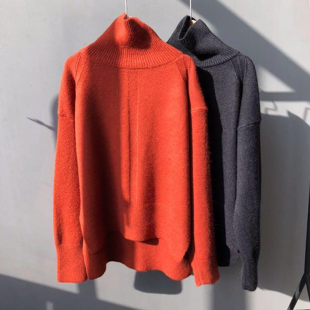 舒適高領毛衣再一款 #有超取最好買