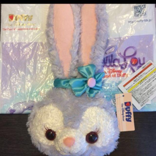 💓全新 海洋迪士尼 最新兔子娃娃(可放零錢及捷運卡)