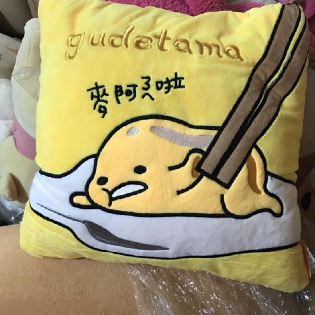 蛋黃哥抱枕 娃娃 票卡夾