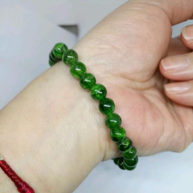 💯天然寶石 珞輝石手珠 手鍊 😄紓解壓力 增加自信