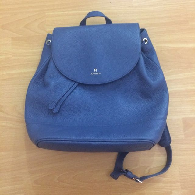 Aigner Blue Bag