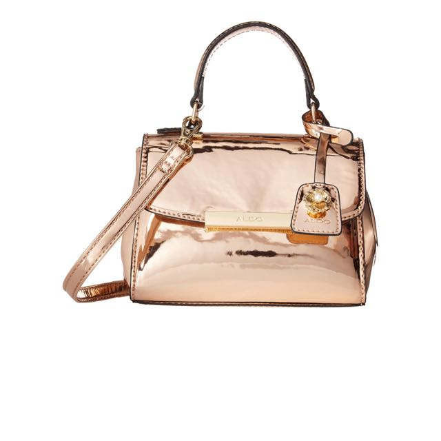 94d27529540 ALDO Inloving Rose Gold Mini Bag