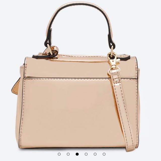 94d27529540 ALDO Inloving Rose Gold Mini Bag