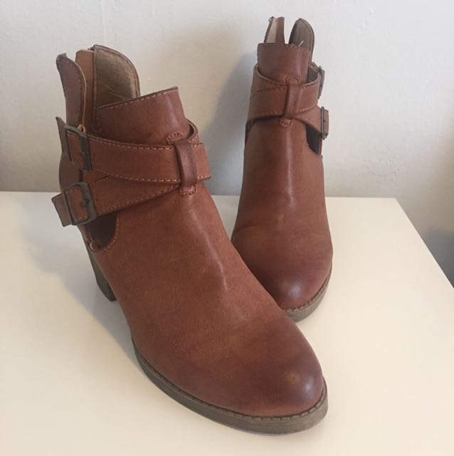 Ankle Booties - Size 8