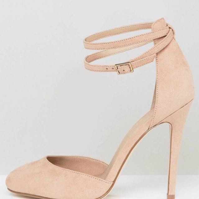 High Playdate Fit Asos Wide Heels 5jqcRL34AS