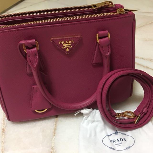 8d33e9b19907 Authentic Prada Galleria Saffiano Leather bag (Mini) - New, Luxury ...