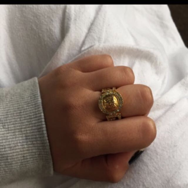 Authentic Versace Ring