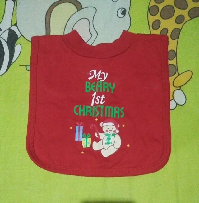 Baby Club by Rustans Christmas Bib
