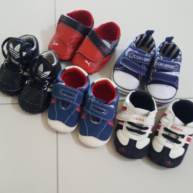 Baby Shoes puma converse adidas 6 to 12