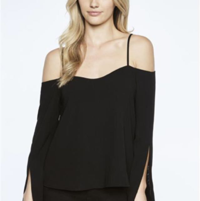 Bardot black top