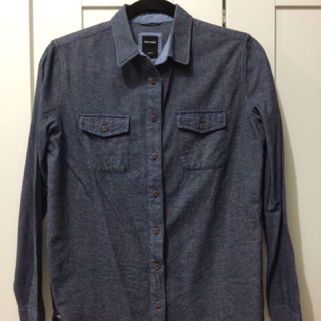 Basic House denim blouse
