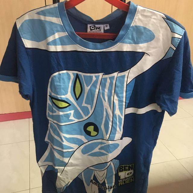 Ben 10 Ultimate Alien Ampfibian Cartoon Network Tee T Shirt TOP Babies Kids Boys Apparel On Carousell