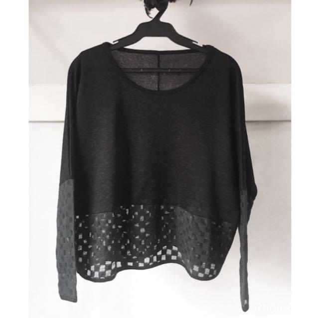 ❤️ SALE ❤️ Black Dolman Sweater