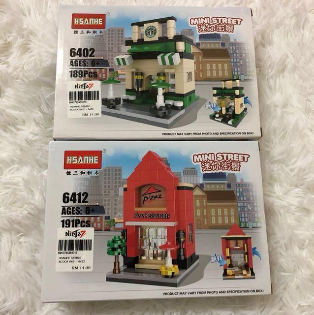 [BNWT] Hsanhe Inspired Lego