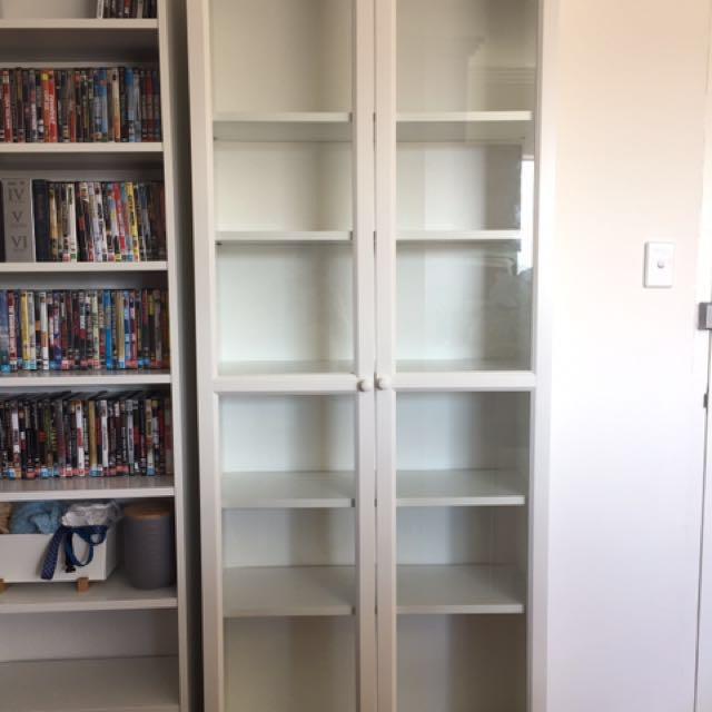 Bookshelf/pantry With Doors