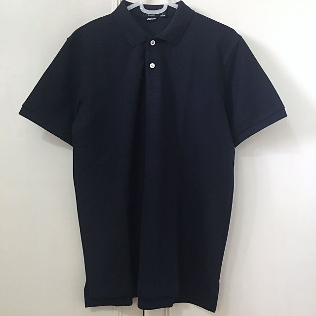 Bossini black polo shirt