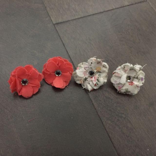 Brand New Floral Earrings