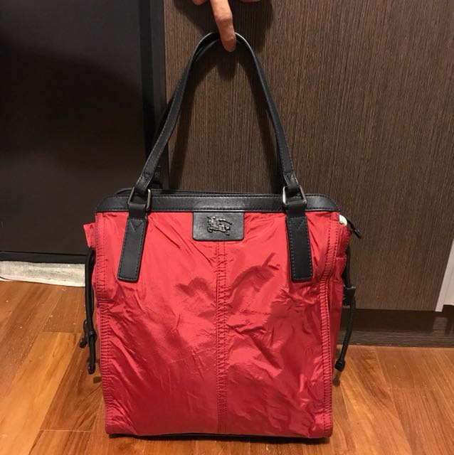 Burberry Red Tote