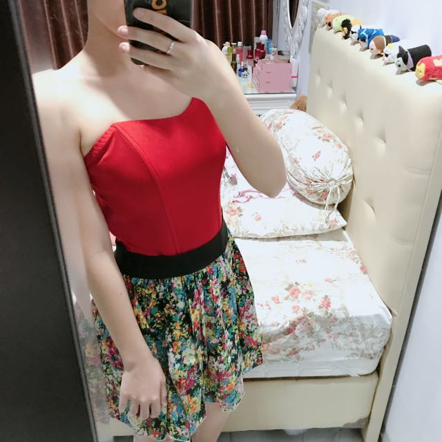 Bustier red