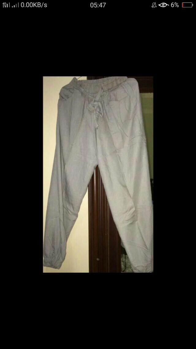 Celana Bahan
