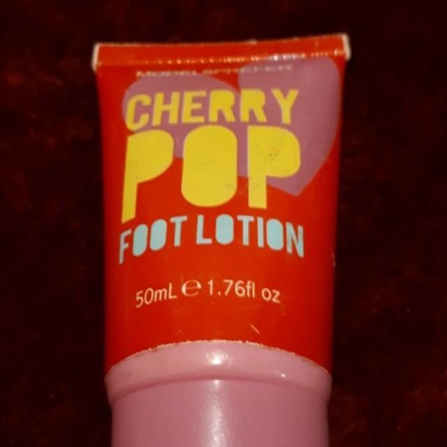 Cherry pop foot lotion