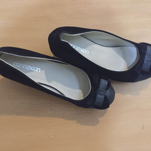 Connexion Black Wedges