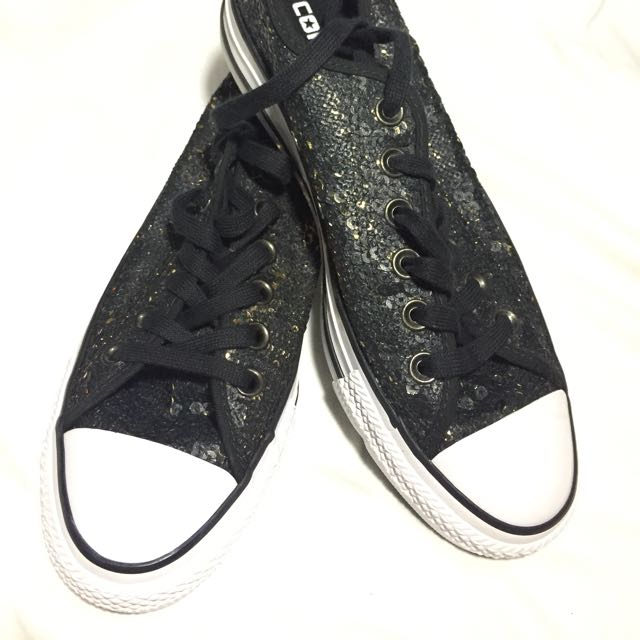 Converse Chuck Taylor All Star Black White Gold