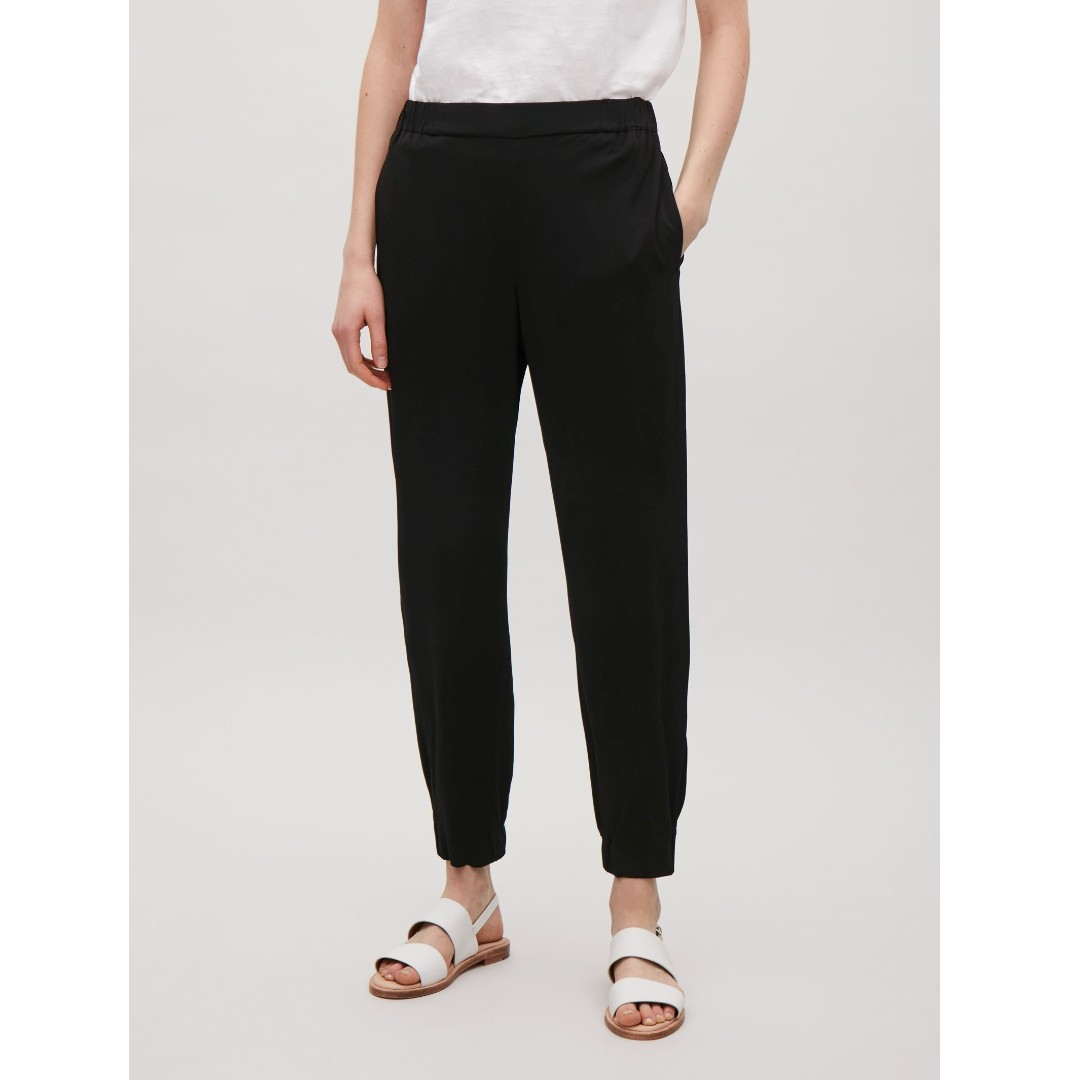 COS - Elastic Waist Cropped Trousers (US 2)