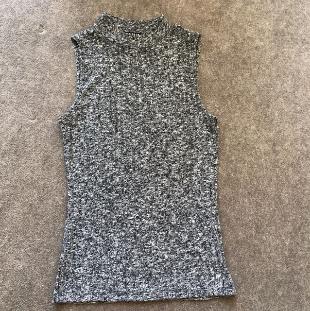 Cotton On high neck knit top - size small