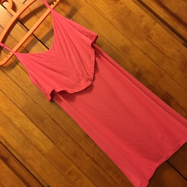 Cotton On Pink Flap Dress