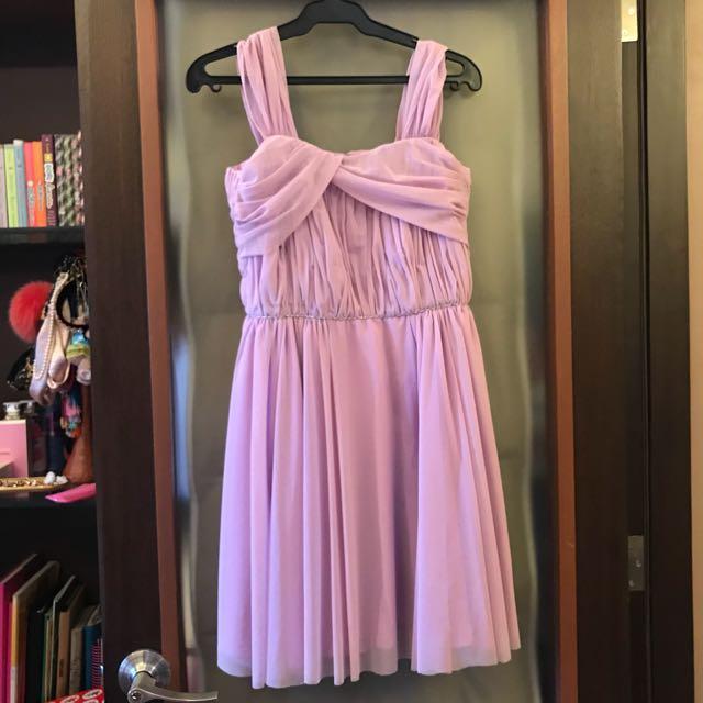 Custom-made Lavender Dress