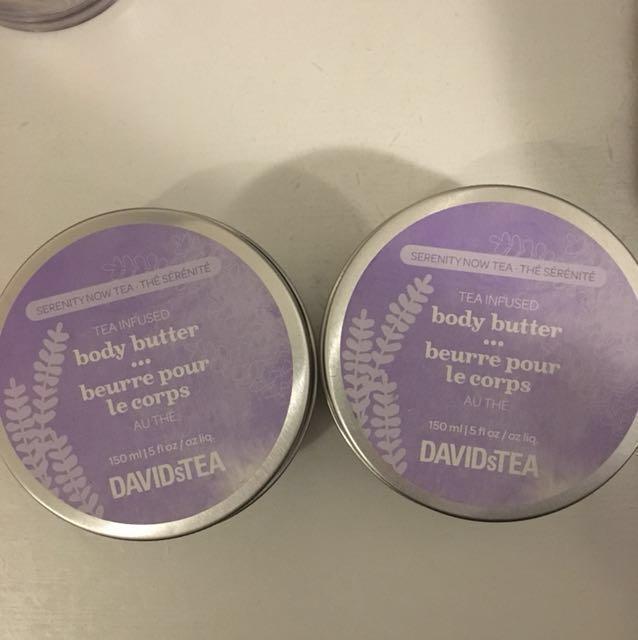 David's Tea Body Butter