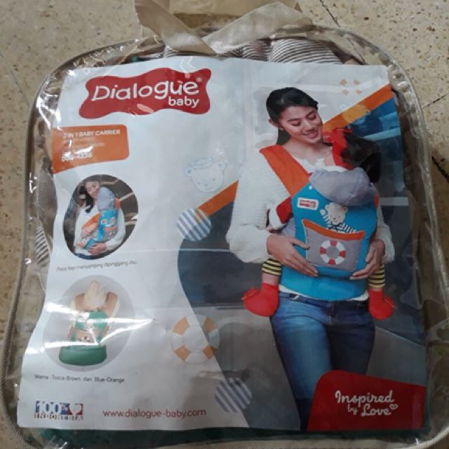 Dialogue 2in1 baby carrier