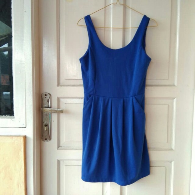 Dress biru