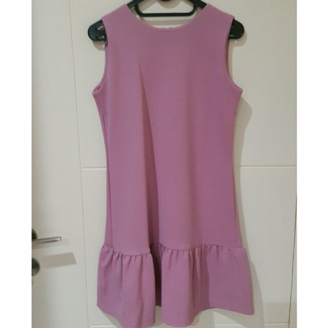 Dress purple