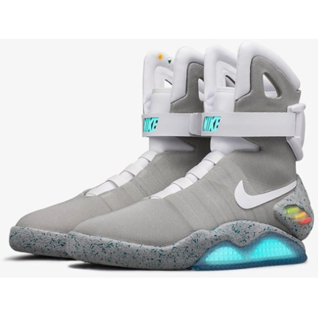 new products 4cf77 7964f EAWEDGOS 2018 All Size Nike Air Mag Back To The Future II Sneaker Casual  Trainer Shoe, Men s Fashion, Footwear, Sneakers on Carousell