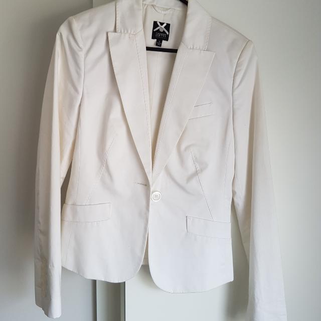 ESPRIT  White Blazer