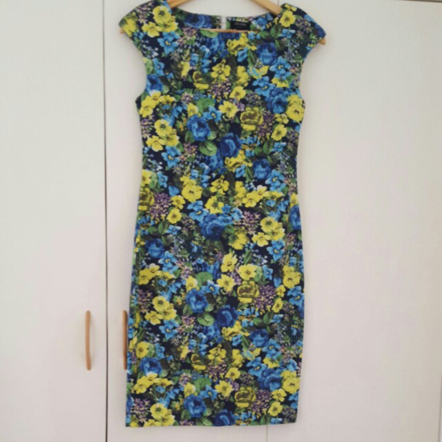 EUC Zalora Floral Dress