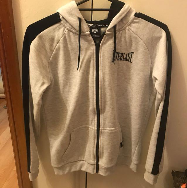 Everlast Hooded Jacket (Grey) Size 10