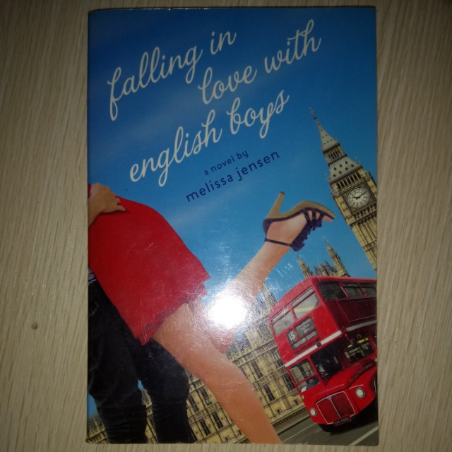 Falling in Love with English Boys - Melissa Jensen