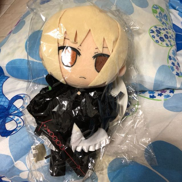 Fate Stay Night - Nendoroid Plus Plush Saber Alter