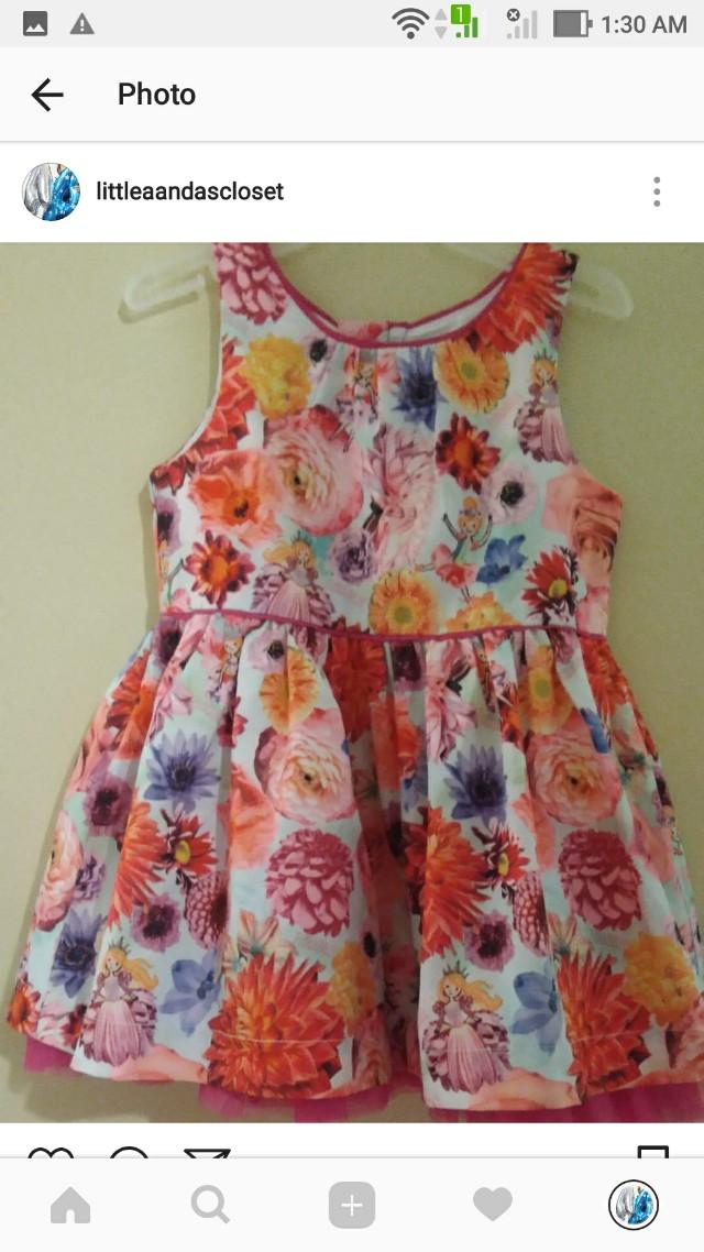 Floral Dress 12M