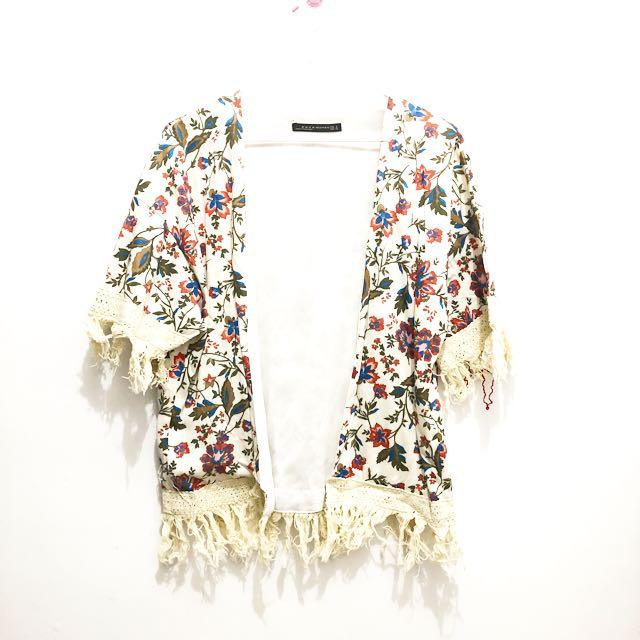 Flower Hawaiian Cardigan || kardigan bunga kardigan stadivarius kardigan fashion kardigan kerja kardigan daily