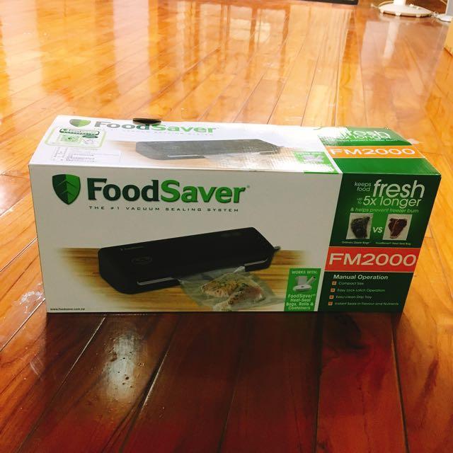 Food Saver Fm2000食物真空機送真空袋