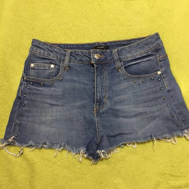Forever21 Stud Highwaist Shorts